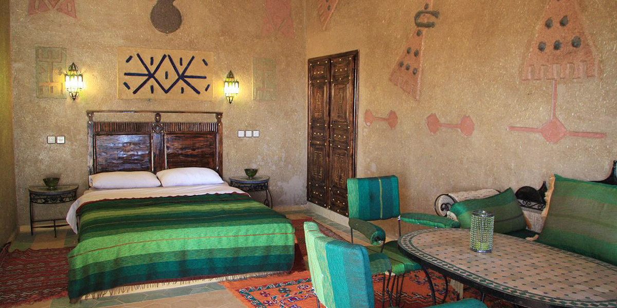 Bedroom Hotel Morocco