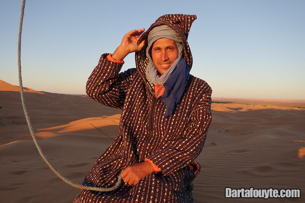 Photos, Camelman Desert Morocco